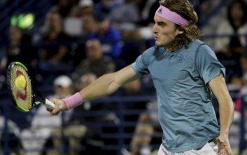 Ο Στέφανος Τσιτσιπάς στους «16» του Miami Open