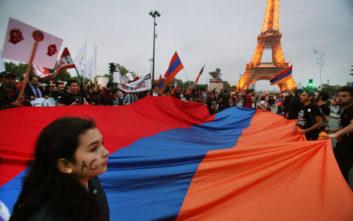 Τουρκία κατά Μακρόν για την ημέρα μνήμης για τη γενοκτονία των Αρμενίων