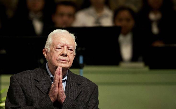 Grammy στον 94χρονο πρώην πρόεδρο των ΗΠΑ Τζίμι Κάρτερ