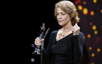 Με τη Χρυσή Άρκτο για το σύνολο του έργου της θα τιμηθεί η Σαρλότ Ράμπλινγκ