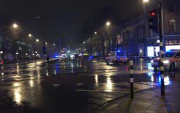 Ανταλλαγή πυροβολισμών με τραυματία στο Άμστερνταμ