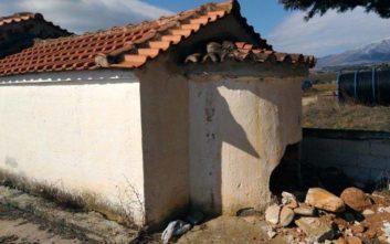 Ιερόσυλοι γκρέμισαν εκκλησία ψάχνοντας χρυσές λίρες
