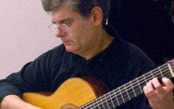 Ο συνθέτης Κώστας Γρηγορέας στο Μέγαρο Μουσικής
