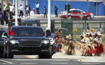 Εξαφανίστηκαν πολυτελή αυτοκίνητα που είχε αγοράσει η Παπούα Νέα Γουινέα για τη σύνοδο του APEC