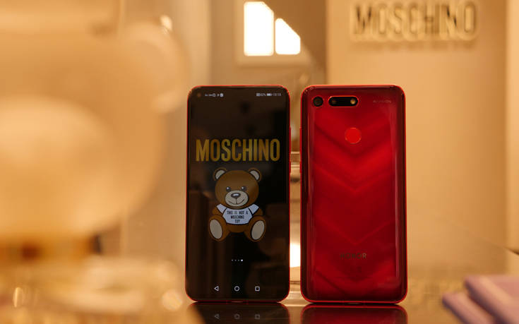 Honor & Moschino, τεχνολογία HONOR με Μοschino Design