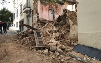 Κατέρρευσε εγκαταλελειμμένο σπίτι στην Πνύκα