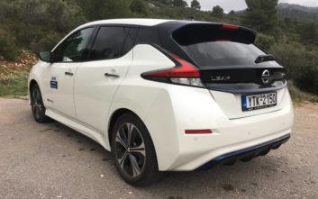 Οδηγούμε το αμιγώς ηλεκτρικό Nissan Leaf