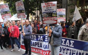 Στο υπουργείο Οικονομικών οι απεργοί της ΠΟΕ-ΟΤΑ