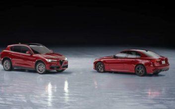 Χορεύοντας στον πάγο με μια Alfa Romeo