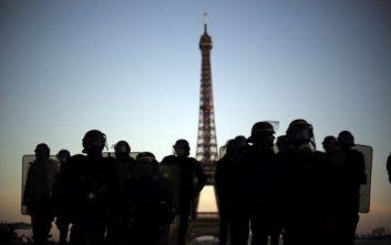 Περίπου 11.600 «κίτρινα γιλέκα» στους δρόμους της Γαλλίας το Σάββατο
