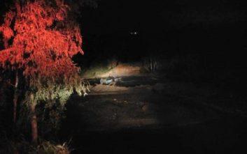 «Ξεφούσκωσε» το ποτάμι και αποκαλύφθηκε... ολόκληρο αυτοκίνητο