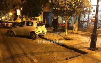 Καταδίωξη «τρελού» αυτοκινήτου στη Θεσσαλονίκη