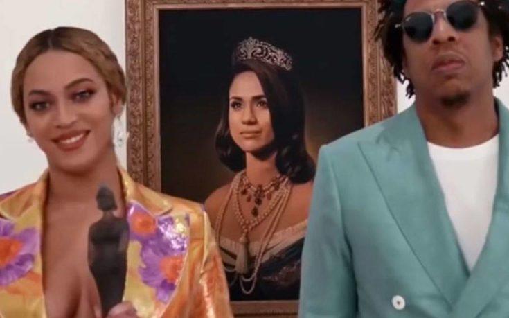 Πορτρέτο της Μέγκαν Μαρκλ για τα Brit Awards χρησιμοποίησαν Beyoncé και Jay Z