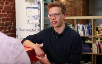 Γνωρίστε έναν πολυπράγμονα επιχειρηματία ετών… 17