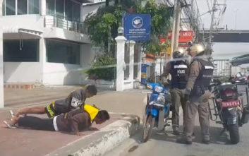 Οι αστυνομικοί τούς είπαν «πρόστιμο ή κάμψεις» και εκείνοι… διάλεξαν