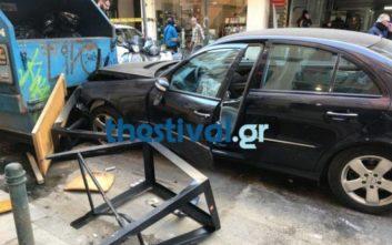 Αυτοκίνητο παρέσυρε πεζούς στο κέντρο της Θεσσαλονίκης