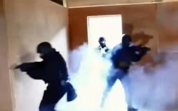 Καρέ-καρέ η αναπαράσταση της απελευθέρωσης Λεμπιδάκη