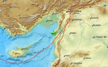 Σεισμός στην Τουρκία