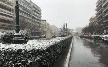 Στους δρόμους οι αλατιέρες στη Θεσσαλονίκη