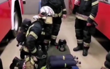 Άσκηση πήγε να κάνει ο πυροσβέστης, έπαθε τελικά την πλάκα της ζωής του