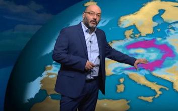 Σάκης Αρναούτογλου: Προειδοποιεί για «ατμοσφαιρικό μποτιλιάρισμα»