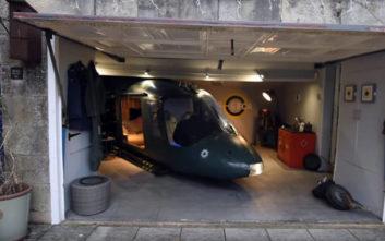 Πήρε ένα ελικόπτερο και το μετέτρεψε σε… home cinema!