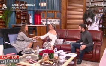 Η φάρσα στην Αθηνά Οικονομάκου και τα ουρλιαχτά της στο πλατό
