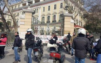 Μοτοπορεία διανομέων στη Θεσσαλονίκη