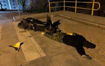 Το περίεργο περιστατικό με τη «σκηνή ατυχήματος» που προβλημάτισε