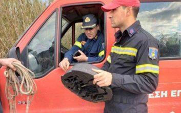 Βρέθηκε εξάρτημα του αυτοκινήτου που επέβαιναν τα τέσσερα άτομα στην Κρήτη