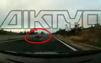 Οδηγός μπήκε ανάποδα στην Εγνατία οδό