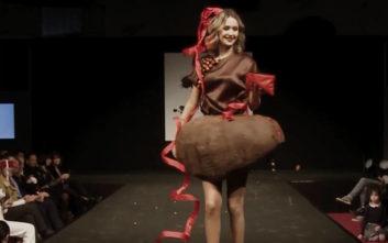 Η λαχταριστή επίδειξη μόδας στο βελγικό Salon du Chocolat