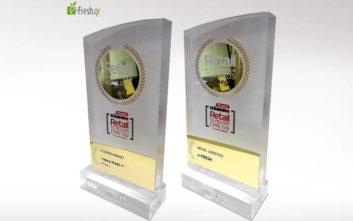 Δύο νέα βραβεία για την e-fresh.gr σε Logistics και E-supermarket