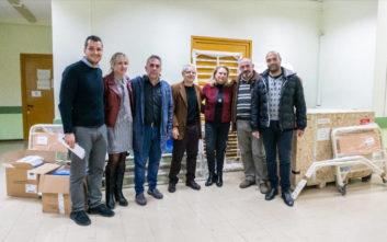 Ο όμιλος ΕΛΠΕ εξοπλίζει τα Κέντρα Υγείας Ιθάκης και Σάμης Κεφαλληνίας