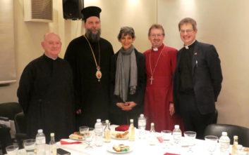 Επίσκεψη Αγγλικανού Επισκόπου Ευρώπης και Βρετανίδας πρέσβεως στην «Αποστολή»