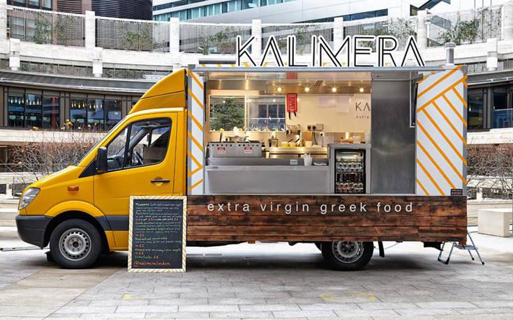 Kalimera, μια ελληνική καντίνα στο Λονδίνο που κάνει πάταγο