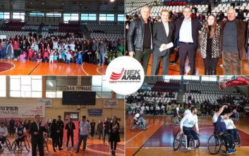 Ευγενής άμιλλα, εθελοντισμός και συγκίνηση στο 1ο Αθλητικό Τουρνουά ΑμεΑ του ΙΕΚ ΑΛΦΑ