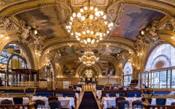 Εντυπωσιακά εστιατόρια σε σταθμούς τρένων