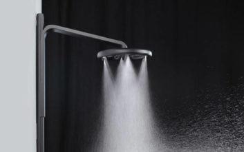 Η ντουζιέρα που εξοικονομεί το 65% του νερού για ένα μπάνιο