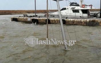 Βυθίστηκε ιστιοφόρο στο ενετικό λιμάνι των Χανίων