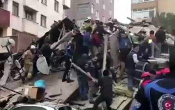 Η παρανομία στο κτίριο που κατέρρευσε στην Κωνσταντινούπολη