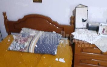 Ζημιές σε σπίτια από τον σεισμό των 5,2 Ρίχτερ στην Πρέβεζα