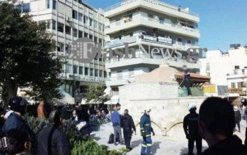 Νεαρός άνδρας στο Ηράκλειο Κρήτης απειλεί να αυτοπυρποληθεί