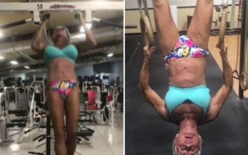 Μια bodybuilder ετών 75 που… πάλεψε με το έγκλημα