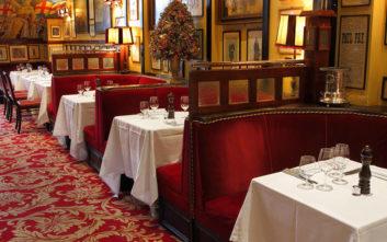 Ταξίδι στο χρόνο μέσα από τα παλιότερα εστιατόρια στην Ευρώπη