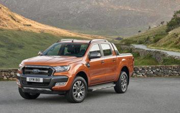 Η Ford πρώτη σε πωλήσεις ελαφρών επαγγελματικών οχημάτων στην Ελλάδα