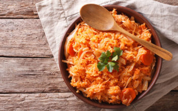Λαχανόρυζο με καρότα