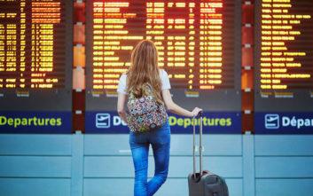 Αύξηση 10,4% των αεροπορικών αφίξεων στην Ελλάδα τον Ιανουάριο