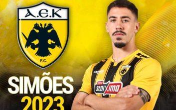 Νέο συμβόλαιο μέχρι το 2023 με την ΑΕΚ ο Σιμόες