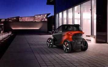 Το πρωτότυπο όχημα που «παντρεύει» τα καλύτερα χαρακτηριστικά μοτοσικλέτας και αυτοκινήτου